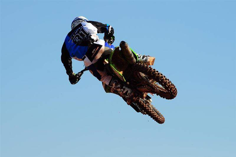 Tanel Leok looked strong on his way to a fifth in the MX1 qualifier