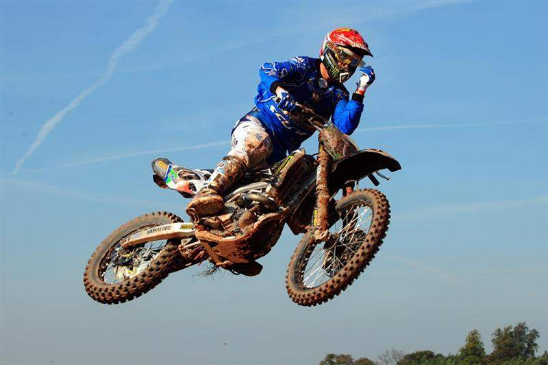 2008 MX1 World Champion David Philippaerts finished fourth in the MX1 qualifier