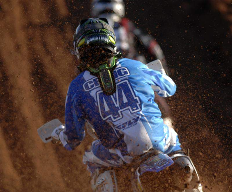 Christian Craig is a name everyone will be hearing about when Supercross 09 comes to town. Craig seems to have the same amount of natural talent as his father, Michael Ray Craig, and is poised to make a run at the West Coast Supercross series.