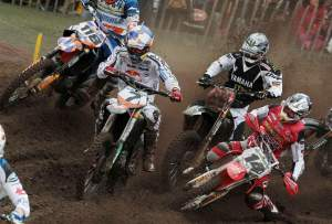 The MX1 class gets underway