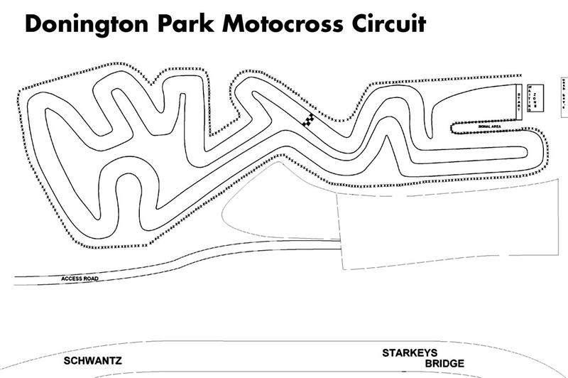 2008 Motocross Of Nations Track Map Racer X Online