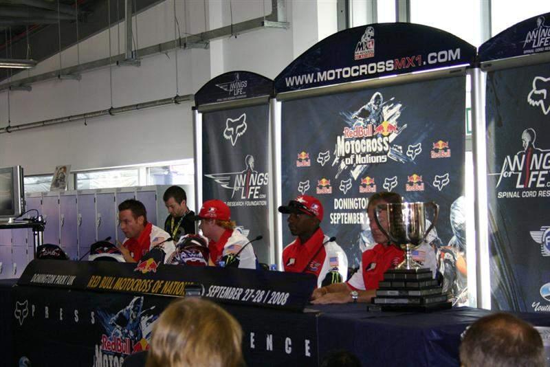 The defending MXoN champions, Team USA.