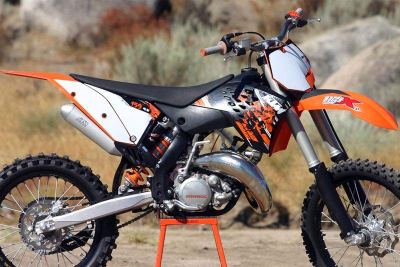 racer x tested: 2009 ktm two-strokes - racer x online
