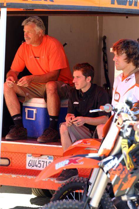 KTM's Tom Moen, Clint and Truth's Tyler Kalisiak