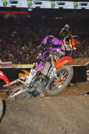 Billy Laninovich was riding for KTM on the West Coast last winter.