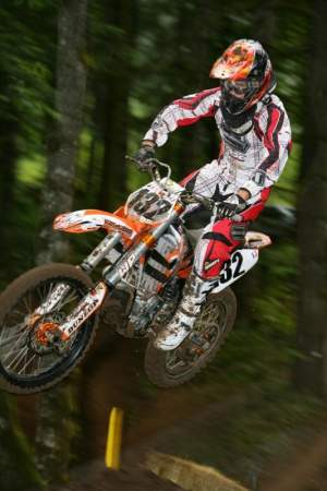 Washougal was the last race with KTM for Laninovich.