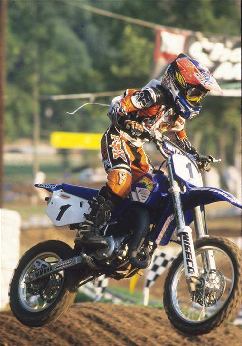 Mike Alessi might not have been the fastest mini rider of all-time, but he definitely won more races. Look how small he was! It always baffled me how somebody with tiny hands like that could hold the throttle on so long. And the rougher the track got, the faster he went.