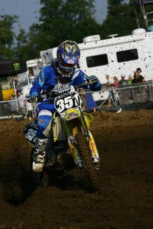 Shane came back from an injury at the RedBud National