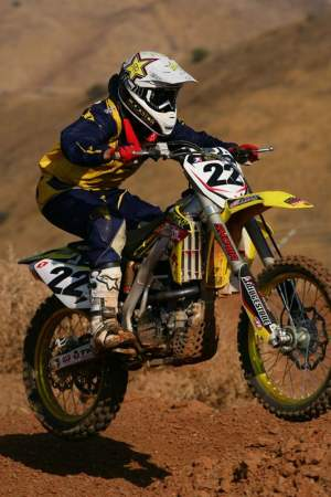 Chad Reed likes the Suzuki in the whoops
