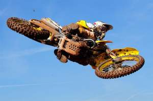Chad Reed worked his way up to tenth after a crash