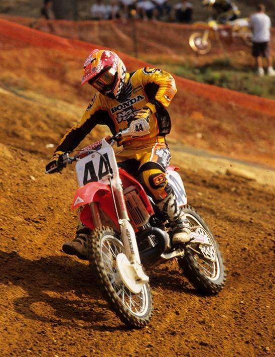 Sebastien Tortelli is one of the fastest outdoor racers to ever live. Shown here in 1999, Tortelli put a beating on the field at Glen Helen that is still talked about to this day. It's just too bad he had such rotten luck.