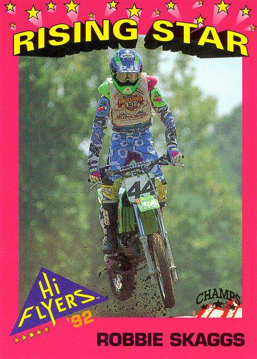 This guy was fast and intimidating back in the day. He was bigger than me, had cooler gear, and faster bikes. But I was able to beat him a couple times! As a pro, Robbie Skaggs holeshot High Point and finished on the podium at the Charlotte Supercross. Check out this Where Are They Now we did with him in 2006.