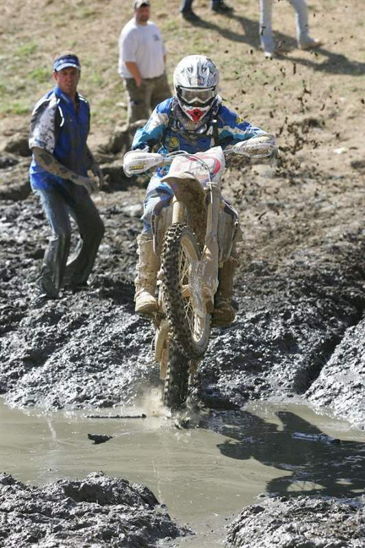 Thad DuVall's XC1 debut was cut short with clutch problems.