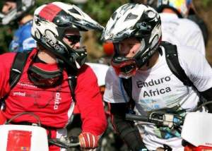 That's Harry and William, real Princes ride dirt bikes!