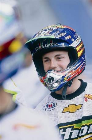 Derek Shae Bentley beat Ping by two points for the 2000 AMA 125 West title, as we like to remind Ping from time to time.
