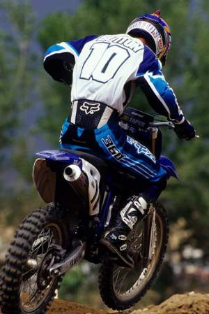Jimmy Button was a former Team Yamaha rider