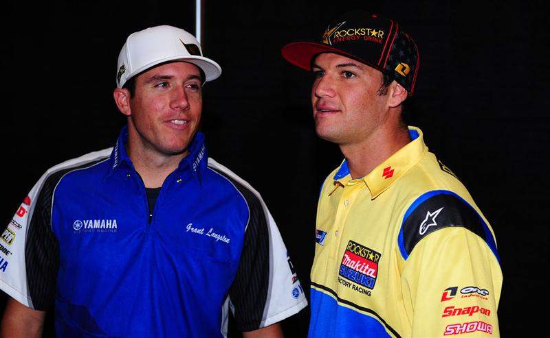 Grant Langston and Chad Reed