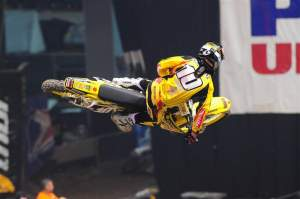 Ryan Dungey used consistent scores to finish on the podium