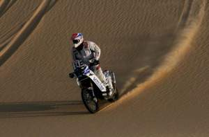 Ludo Boinnard rallies across the Sahara Desert