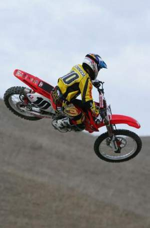 Ernesto Fonseca in his Factory Honda days