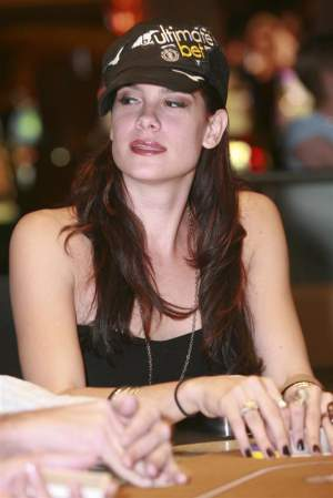 Tiffany Michelle finished 17th in the 2008 World Series of Poker