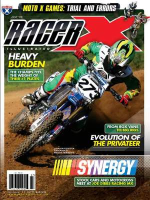 Gracyk was featured on the July 2008 issue of Racer X Illustrated