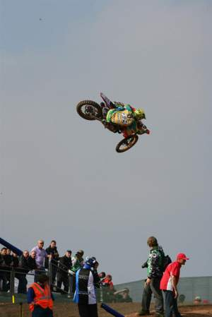 Balbi rode for Brazil at the 2008 Motocross of Nations