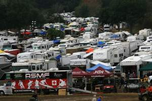 Racers can also expect full parking lots!