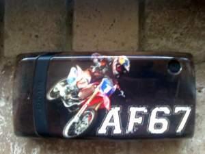 Fiolek's custom phone