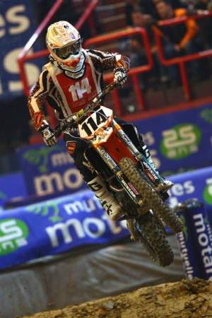 Justin Brayton was a revelation in France