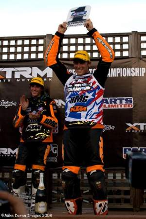 Troy Herfoss is the AMA/XTRM Supermoto National Champion
