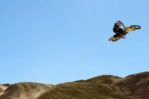 Ryan Dungey freeriding