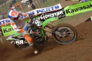 Kyle Cunningham was picked up by Motosport Extreme Kawasaki after battling factory riders as a privateer.