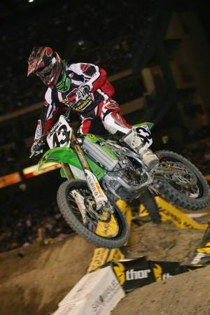 Jeff finished 20th overall in the 2008 AMA Monster Energy Supercross series
