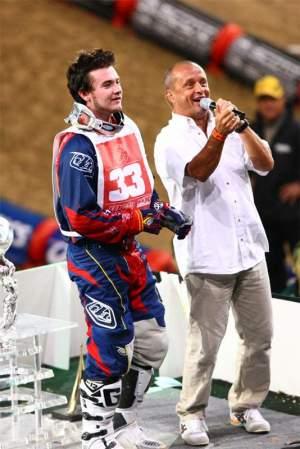 Josh Grant at the Bercy Supercross