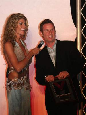 Tim Ferry at the AMA Awards Banquet