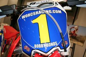 Bobby Bonds WORCS #1 will be on a Valli Motorsports Honda in 2009.