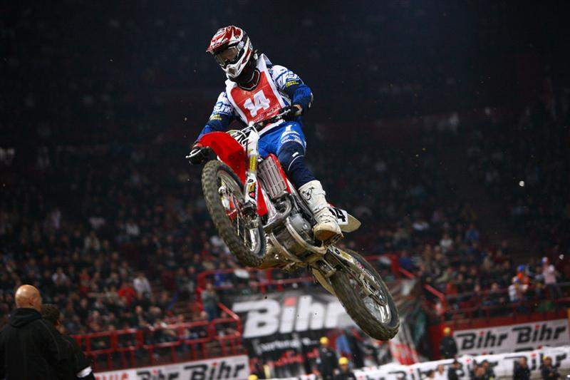 Windham seemed rusty in his first race since the the final supercross round in Vegas
