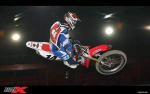 Kevin Windham goes flat in practice