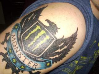 Monster Tattoo