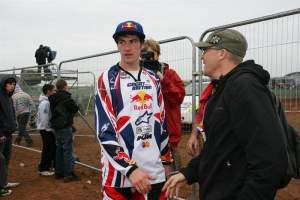 Tommy Searle at the 2008 Red Bull Motocross of Nations