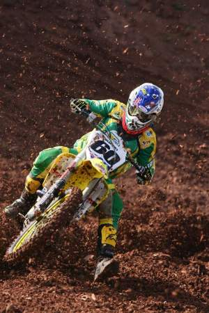 Michael Byrne at the 2008 Motocross of Nations