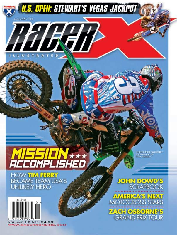 The January 2009 Issue - Racer X Illustrated Supercross Magazine