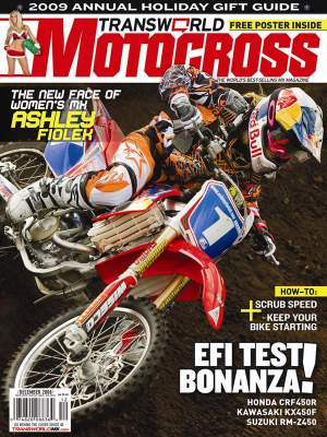 Ashley Fiolek is on TWMX's latest cover