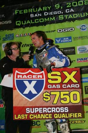 Become a Racer X Gas Card sponsor today!