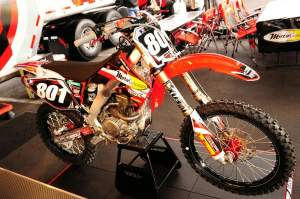 Alessi is excited to be back on a 250F
