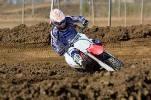 Billy Laninovich was riding a borrowed Honda at Starwest