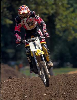 Travis Pastrana is a lifelong Suzuki rider