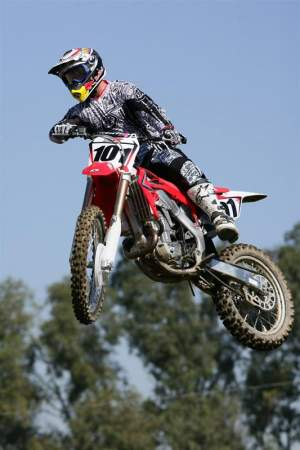Ping on the 2009 Honda CRF450R