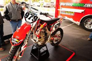 Coisy will ride the 450